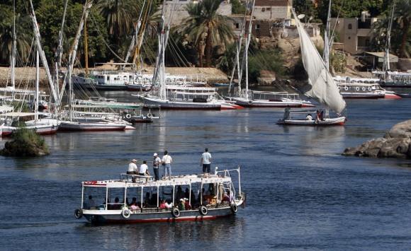 Kelionės Nilo upe ne visada būna saugios.