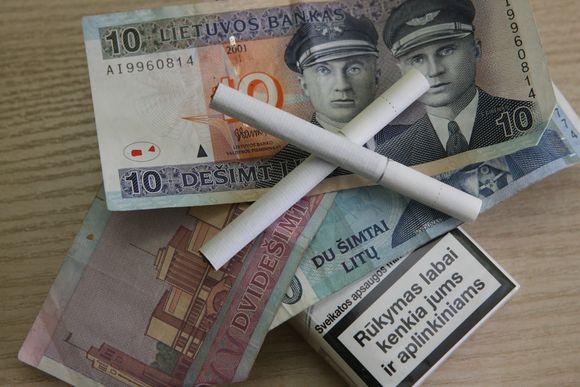 Cigarečių brangimas pirkimo bumo šalies prekybos taškuose nesukėlė.