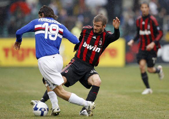 """""""Milan"""" nuo pralaimėjimo neišgelbėjo ir Davidas Beckhamas."""