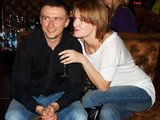 Organizatorių nuotr./Marius Jampolskis su žmona