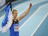 """AFP/""""Scanpix"""" nuotr./Daugiakovininkas Mikkas Pahapillas iš Estijos laimėjo auksą"""