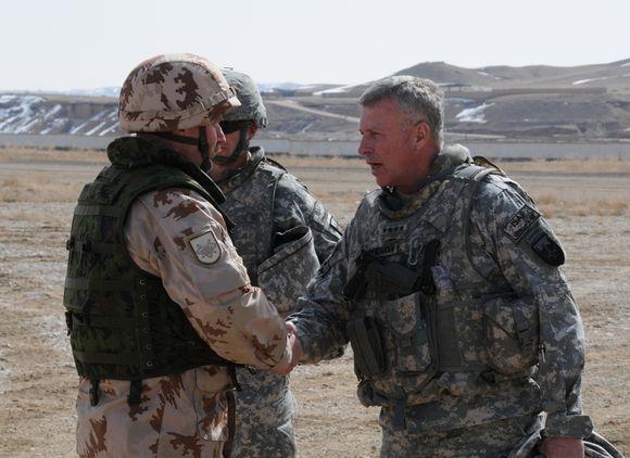 ISAF vado atvykimas
