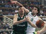 """""""Reuters""""/""""Scanpix"""" nuotr./Š.Jasikevičius nugalėtojams pelnė 12 taškų."""