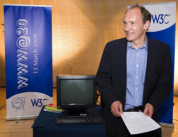 Interneto išradėjas Timas Berners-Lee