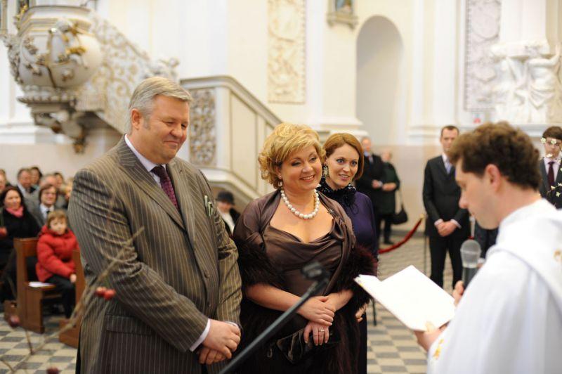 Foto naujienai: Gintautas Vyšniauskas ir Edita Mildažytė. Jo triumfo ir jos kapituliacijos diena