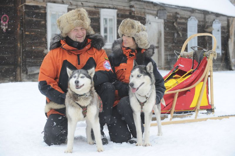Foto naujienai: Jolanta ir Hubertas Bliujai: šunų užkalbėtojai