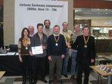 Organizatorių nuotr./Nugaletojai – Vilniaus šachmatų ir bridžo klubas.