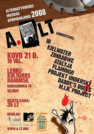 A.LT plakatas