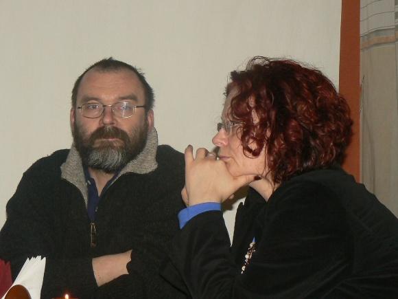 """Viename iš šiųmetinių """"Skliautų miesto"""" vakarų dalyvaus šeimyninis duetas - menininkai Elena ir Arvydas Brazdžiūnai"""