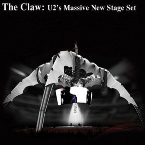 """""""U2"""" būsimų koncertų scena"""