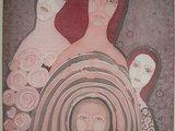 Organizatorių nuotr./D.Stonkuvienė ėmė kurti tapybos ant šilko paveikslus.
