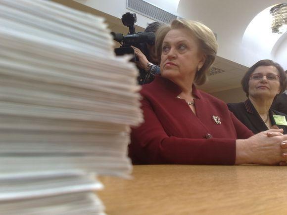 K.Prunskienė surinko reikiamą parašų skaičių.