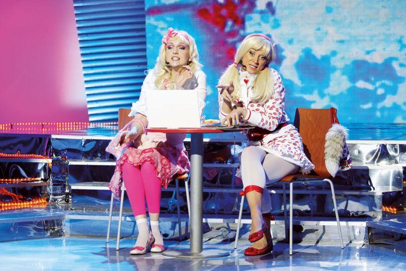 Foto naujienai: Rūta Ščiogolevaitė ir Daura Zenkevičiūtė: blondinės veža!