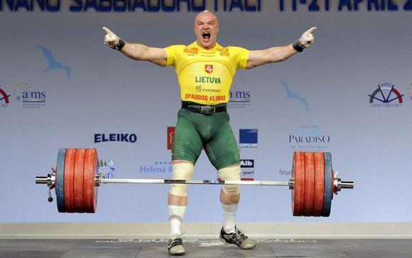 Pernai Europos čempionate R.Vyšniauskas laimėjo sidabrą.
