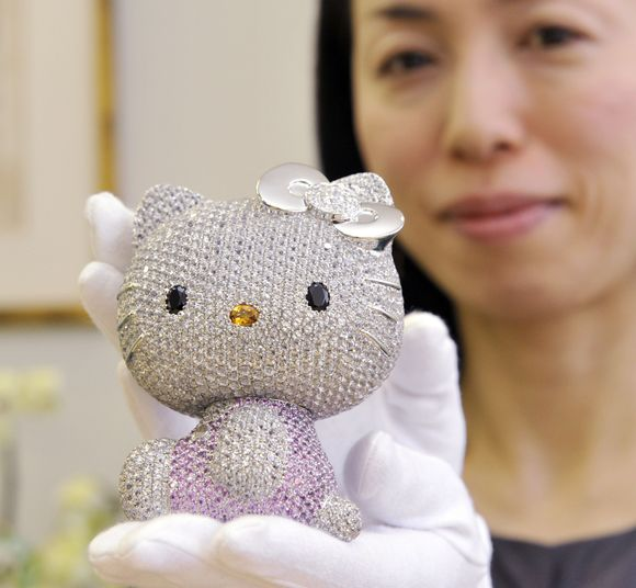 The Super Hello Kitty Jewel Doll