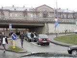15min.lt skaitytojo Rapolo nuotr./Vienpusio eismo gatvėje kaktomuša susidūrė du automobiliai