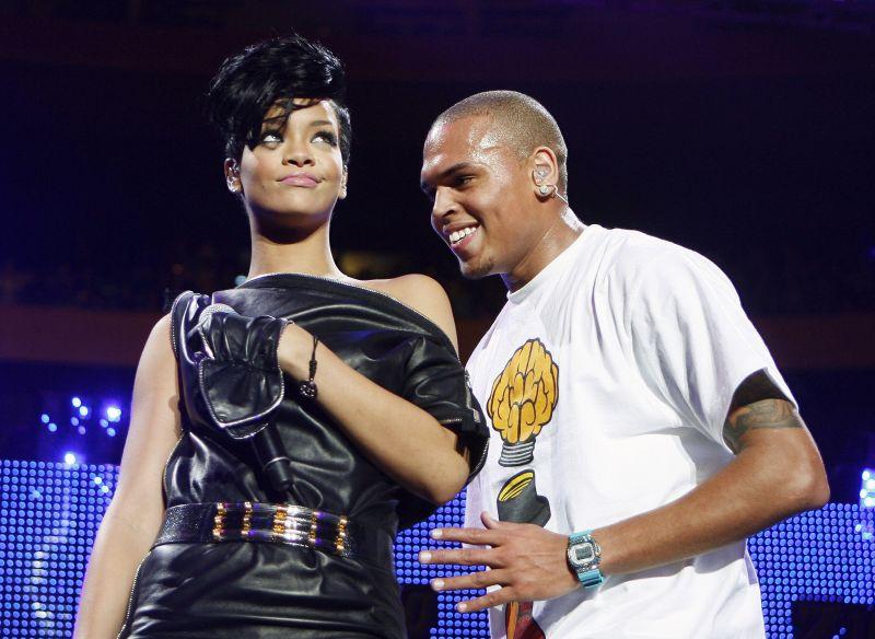 Rihanna ir Chrisas Brownas