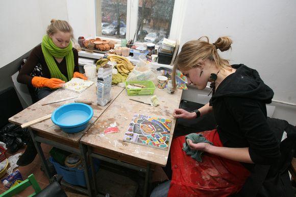 Vilniaus dailės akademijos studentams niekada nepristinga kūrybinių minčių ir polėkio.