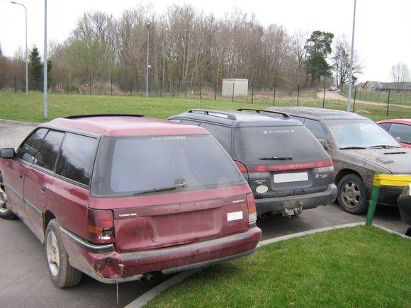 Kontrabandininkų automobiliai