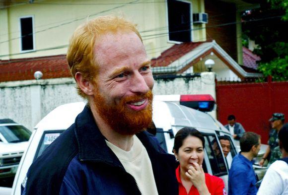 Andreas Notteris, 38-erių šveicaras buvo išgelbėtas anksti šeštadienį Džolo saloje.