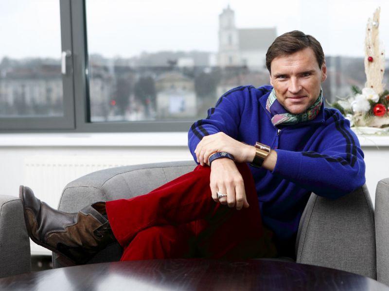 Foto naujienai: Žilvinas Grigaitis: žmonės man klijuoja etiketes