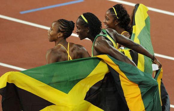 Jamaikos moterys nuo vyrų neatsilieka