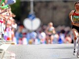 """""""Reuters""""/""""Scanpix"""" nuotr./Finišuoja maratono nugalėtoja Irina Mikitenko"""