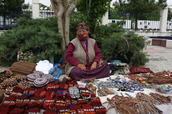 V.Miliaus nuotr./Turkmėnijos moteris