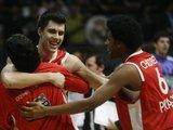 """""""Reuters""""/""""Scanpix"""" nuotr./""""Olympiacos"""" žaidėjai tiki savo sėkme."""