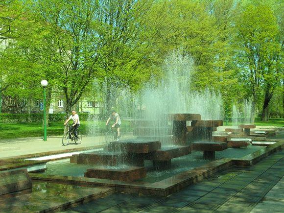 Fontanas uostamiestyje