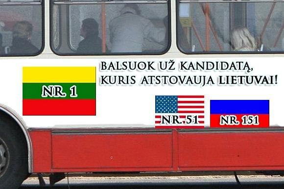 15min.lt skaitytojo Simono K. fotomontažas/Atstovauja Lietuvai