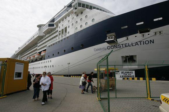 Pirmasis kruizinis laivas į Klaipėdą atplauks jau pirmadienį.