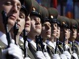 """""""Reuters""""/""""Scanpix"""" nuotr./Rusijos kariai parado metu"""