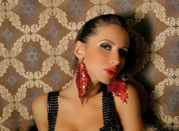 Eurovision TV nuotr./Ukrainos atstovė Eurovizijoje Svetlana Loboda
