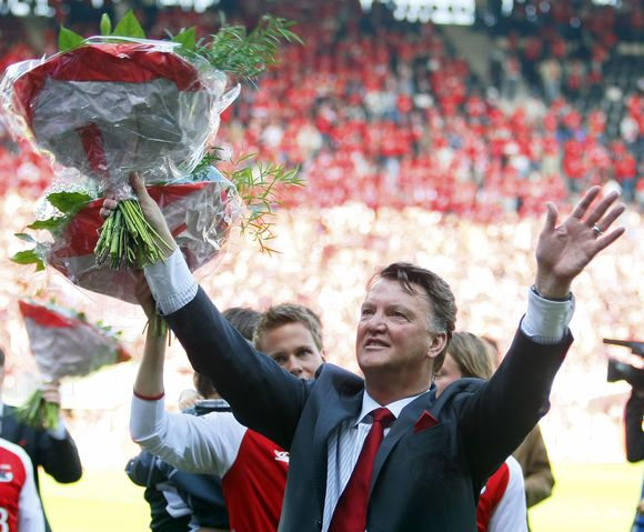 L.van Gaalas neseniai tapo Olandijos čempionu