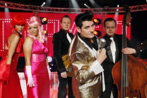 Rurovision TV nuotr./Belgijos atstovas Patrickas Ouchene
