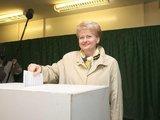 Irmanto Gelūno/15min.lt nuotr./Dalia Grybauskaitė rinkimų kampaniją įvertino kaip nešvarią.