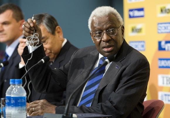 IAAF Prezidentas Lamine Diack