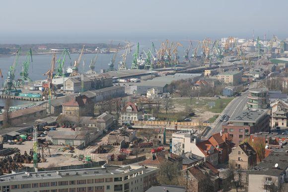 Aplinkeliu bus nukreipta dalis uostą aptarnaujančio transporto srautų.