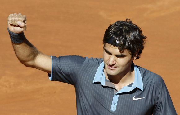 R.Federeris po ilgos pertraukos Madride vėl šventė skambią pergalę