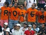 """""""Reuters""""/""""Scanpix"""" nuotr./Patyręs skaudžių nesėkmių R.Federeris sulaukė sirgalių paramos"""