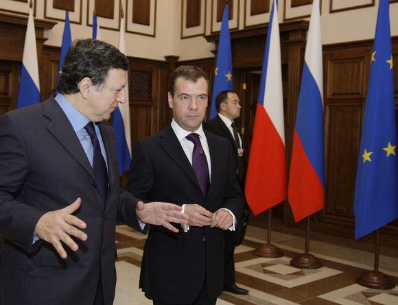 ES ir Rusija tęsia opių problemų aptarimą Chabarovske.