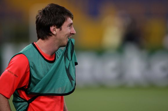 Barselonos komandos lyderis L.Messi