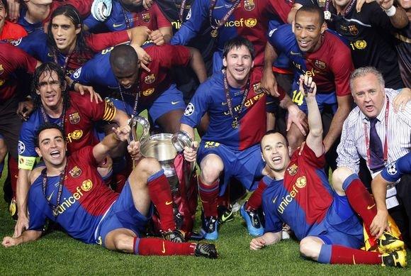 Reuters/Scanpix nuotr./Barcelona triumfo akimirka