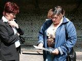 T.Agofonova ir S.Lapickaja prisidėjo prie šausyklos statybų.