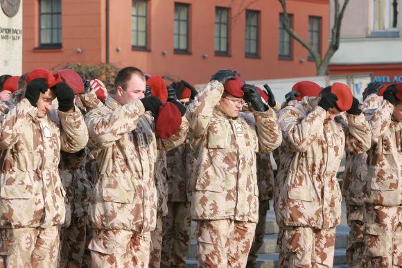 Iš Klaipėdos į misiją Afganistane kariai buvo išlydėti spalio pabaigoje.