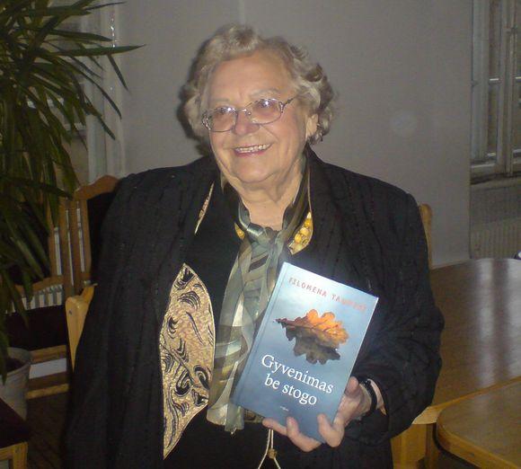 Gydytoja Filomena Taunytė pristato naują knygą