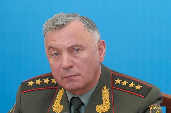 Rusijos generalinio štabo vadovas, armijos generolas Nikolajus Makarovas