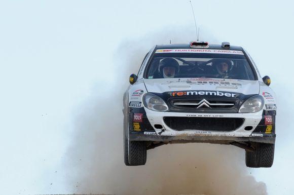 "Ateinančius du etapus P.Solbergas ketina startuoti ""Citroen Xsara WRC"" automobiliu"