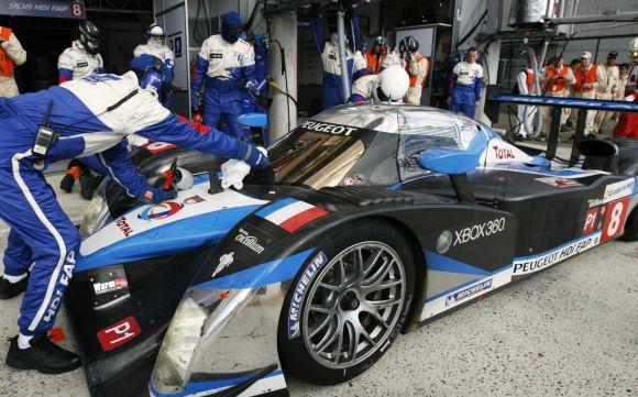 Peugeot komanda Le mano lenktynėse